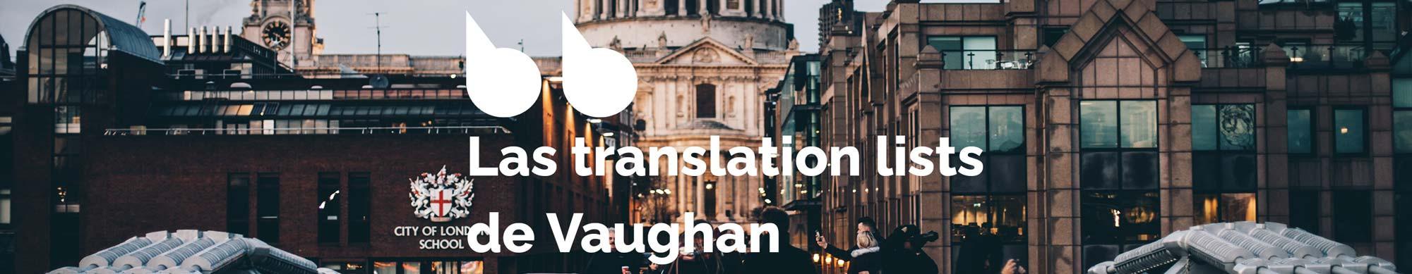 Ejercicios de inglés de nivel avanzado - Translation List 29