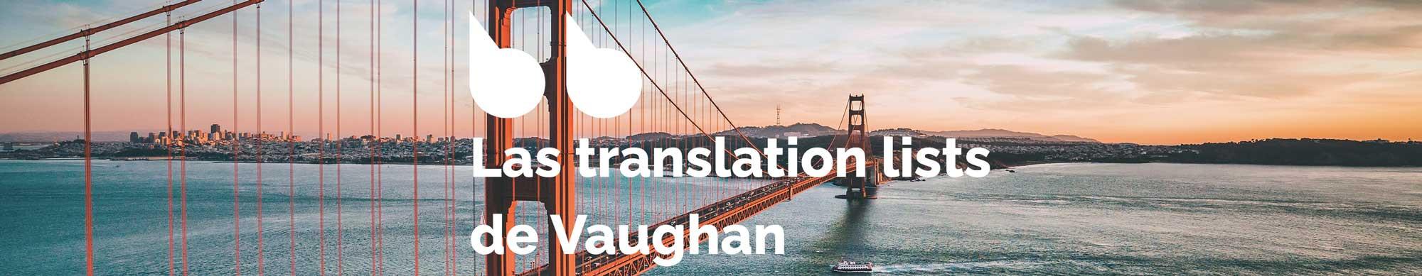 Ejercicios de inglés de nivel avanzado - Translation List 34