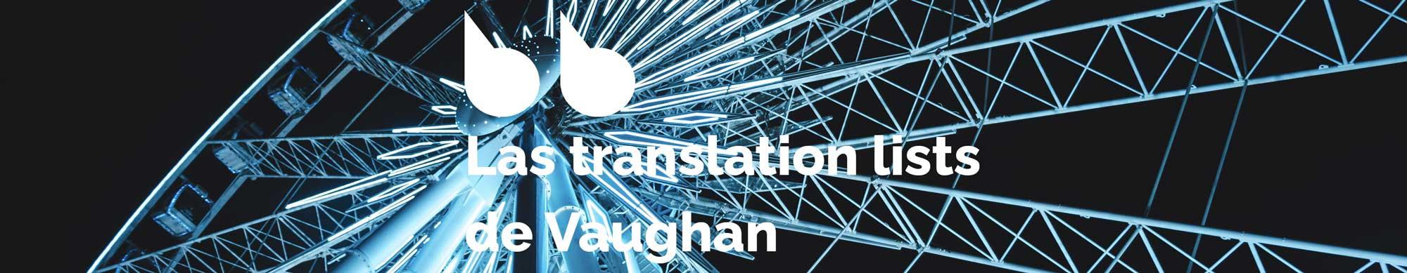 Ejercicios de inglés de nivel avanzado - Translation List 35