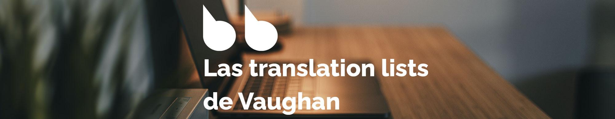 Ejercicios de inglés de nivel avanzado - Translation List 36
