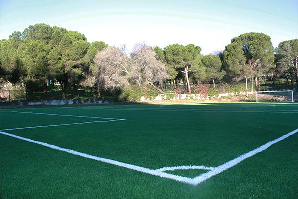 Campo de fútbol y pistas exteriores